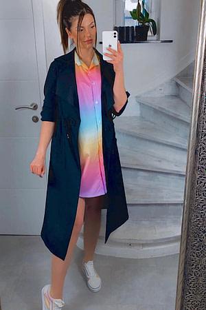 manteau leger +lichette taille