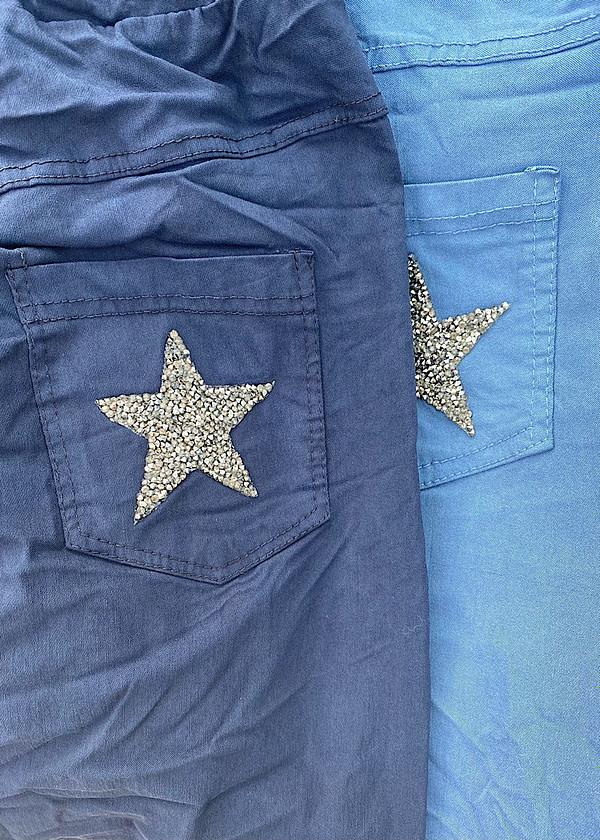 Pantalon Lycra strass