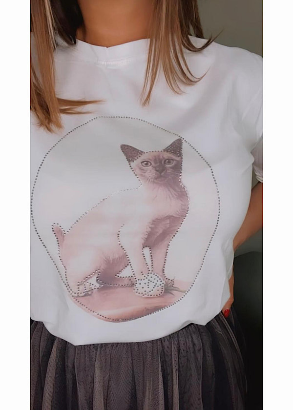 T-SHIRT CAT