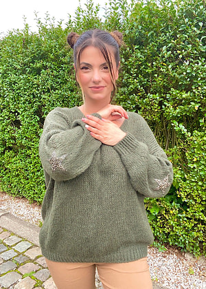 Pull etoile tricot