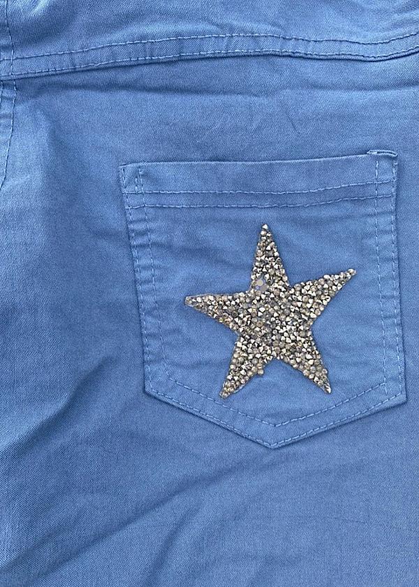 Pantalon détails etoile